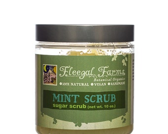 Fleegal Farms Mint Sugar Scrub