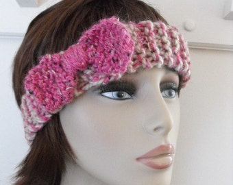 Pretty In Pink Head Band Accessory for  Yoga, Running , Sports