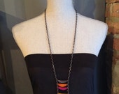 Ladder style necklace