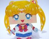 Sailor Moon Printable Paper Craft PDF