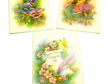 Vintage Card Trio