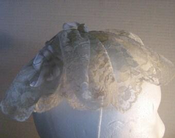 Antique Vintage Lace HatCap Reuse, Recycle, Remake