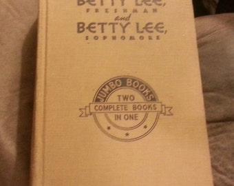 Betty Lee Freshman and Betty Lee Sophmore