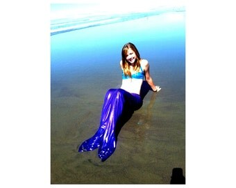 Swimmable mermaid costume