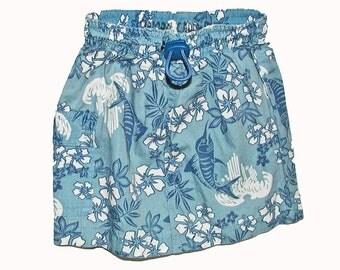 Girl's Swimtrunks Beach Skirt Size 6 - 9 Mos.