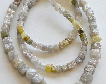Rare Cube DIAMONDS, Rough, Natural, Precious Gemstone. Choose Your Size. (5DIA1).