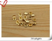4mm Rivets and Studs for Handbags, Belts, Carrying Bags, Suitcases, Shoes 50sets per bag golden   H1