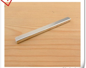 4 inch (10cm x 0.8cm  ) straight Purse edging Wallet frame  wallet edging Metal Edging strip Nickel color P110