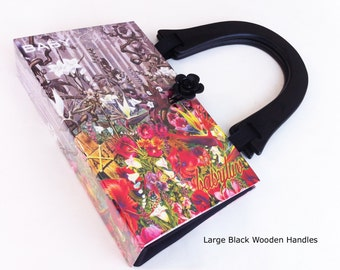 Stephen King Recycled Book Purse - Liseys Story Book Purse -  BabyLuv Book Purse