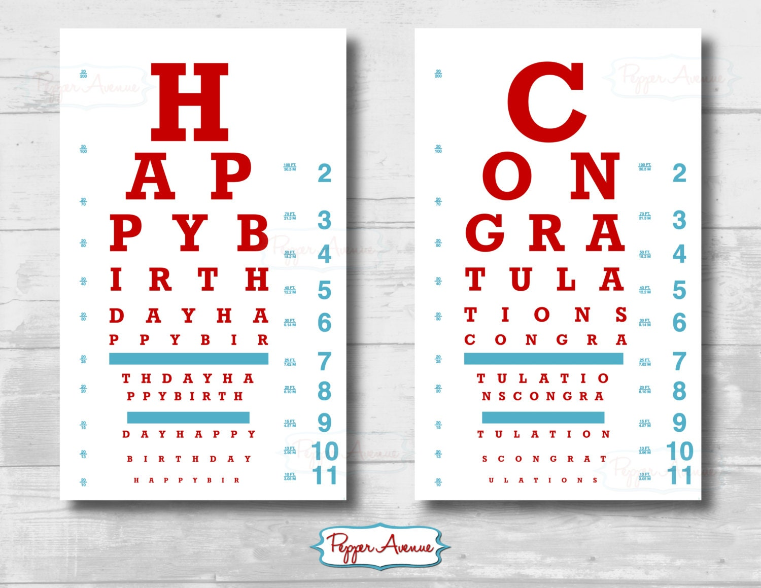 Birthday Quotes For Doctors: Doctor Or Nurse Party Eye Chart Birthday Or Graduation Party