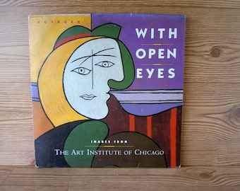 Vintage 1993 Laserdisc The Art Institute of Chicago With Open Eyes Art Collection Art Exhibit by Voyager