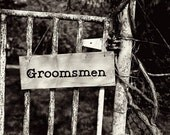 CLEARANCED WEDDING SIGNS for Theresa  Mr. Mrs. Bridesmaids Groomsmen Wedding Handmade The Wild Raspberry