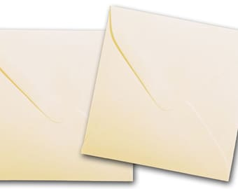 NATURAL 3 1/8  inch SQUARE Envelopes 50 pk
