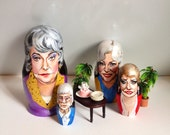 Golden Girls Nesting Dolls