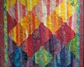 Lava Lights Art Quilt