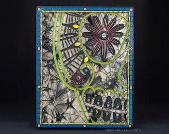 Day of the Dead - Carmen - Mosaic Art