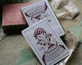 Vintage CARD SET - Fun With Numbers, I Win, Deck Number 12, 1951, Gypsy Girl