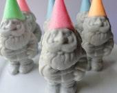 Garden Gnome Soap - Handmade soap - Goat Milk Soap - Scented Lavender Novelty - Teen - Christmas gift - gift for her - Pink - shaped soap