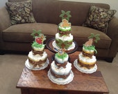 Lion King Jungle Diaper Cake Baby Sower Centerpieces two tier other topers and styles too