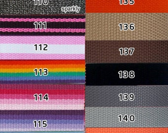 Additional belt strap colors to go with your interchangeable belts.