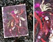 "Tango Seaweed Corsage - 8"" x 10""  Original Artwork"