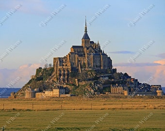 Mont St. Michel Normandy France Fine Art Photography Print You Choose Style