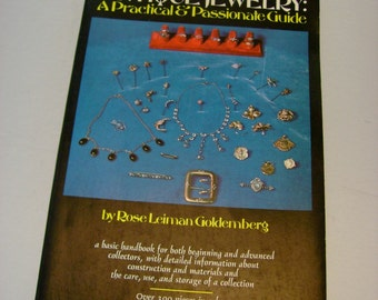 Antique Jewelry: A Practical & Passionate Guide Book by Rose Leiman Goldemberg