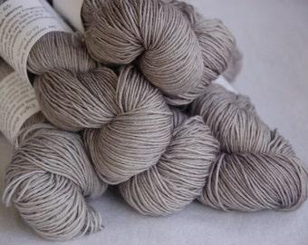 Studio June Yarn Eight Bells 8 Ply - 100% Superwash Merino Wool, Color:  Silvery Gray
