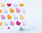 Fabric Card Greeting Card - Baby Girl