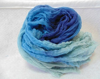 Stormy Seas Hand-Dyed Cheesecloth 1yd