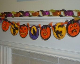 halloween banner halloween halloween decoration folk art halloween halloween garland halloween