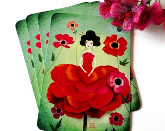 Anemone - Postcard