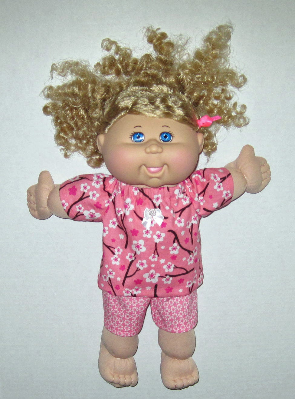 cabbage patch doll clothes cherry blossom top and set