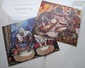 Vintage Turkish gallery card prints