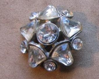 A Vintage Rhinestone Pin