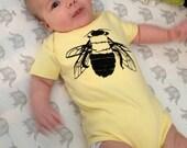 Yellow Bee Onesie