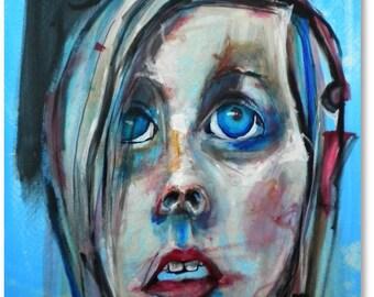original acrylic painting by Maine artist mari Ward