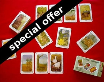 SPECIAL OFFER - 2 Living Landscapes Permaculture Card Games - Eco Friendly Game