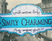 Shabby Chic SIGN . . . . . . a vintage look . . . . . .for your home or business.