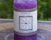 DIVINATION Signature Spell Candle by Witchcrafts Artisan Alchemy