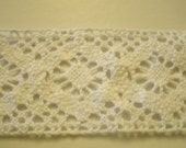 Reserved listing for 12  Cluny cotton  trim for babies or towels or clothes 1.75 inches wide