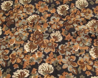 Vintage Fabric cotton 1 1/3 yard x 45 inches wide Sale