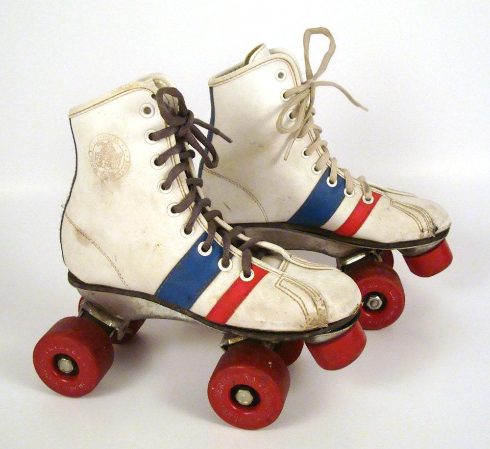 Sneaker Roller Skates Vintage 1970s Kid S Children S