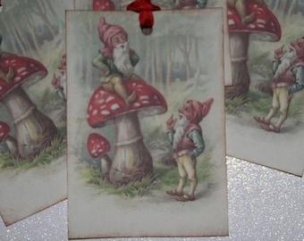 Garden Gnome Tags