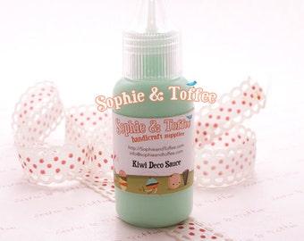 Fake Deco Sauce / Dripping Sauce / Decoden Acrylic Paint 22ml / Kiwi Deco Sauce