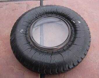 Vintage Rubber Tire Ashtray