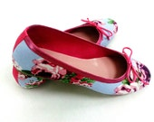 Hortensia: Handmade Ballet Flats from De Bonis Orquera