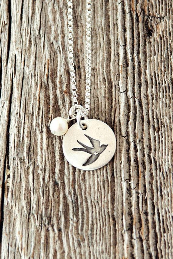 Dove Necklace, Dove of Peace Necklace, Peace Necklace, Hope Jewelry, Birthday Gifts, Sympathy Gifts, Adoption Gifts, Adoption, Bereavement