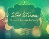 7 Piece Set - Dot Dream - Banner Package