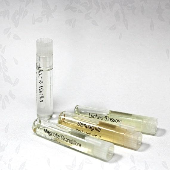 Perfume Tester Samples: Designer Type Artisanal Perfume Silk Oils
